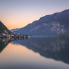 Afterglow in Hallstatt