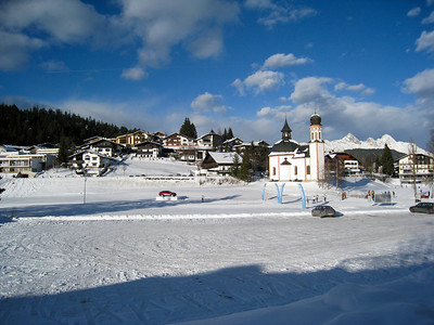 A Snowy Morning in Seefeld