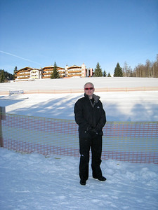 David at the Nursery Slopes in Seefeld