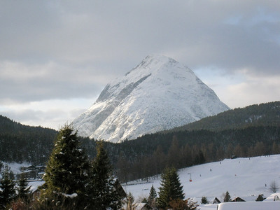 The Mountains Behind Seefeld