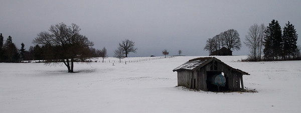 Bavarian Farm in WInter - Train from Munich to Seefeld