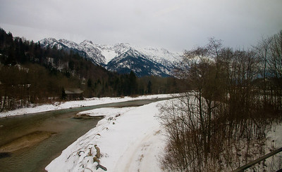 River in Southern Bavaria - Train from Munich to Seefeld