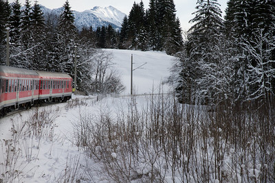 The Train from Munich to Seefeld