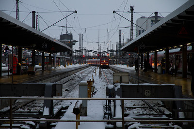 Train to Seefeld - Munich Central Station