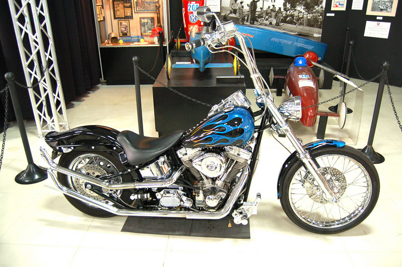 Motorcycle Exhibit at Auto Museum