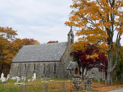 Church in the Woods - just outside Harriman SP.