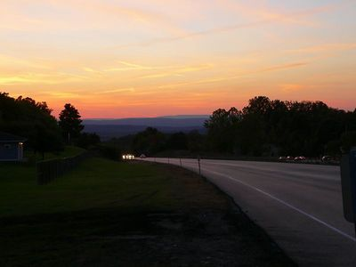 Sunset from I84.
