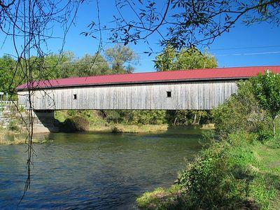 Hamden covered bridge.