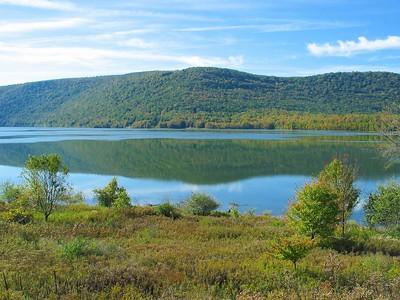 Cannonsville reservoir.
