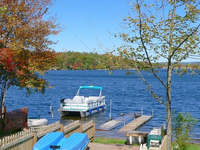 Kauneonga Lake.
