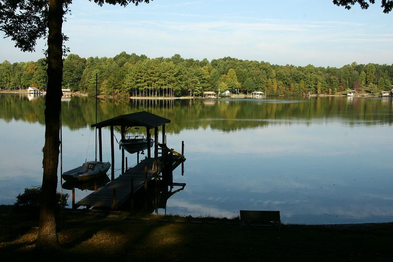 Whitcomb's dock at Smith Mountain Lake, VA