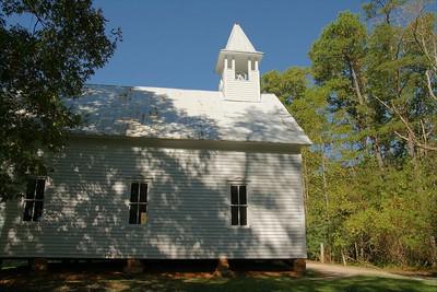 Methodist Church in Cades Cove.