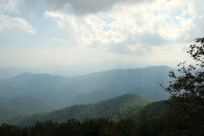 View from Wayah Bald.