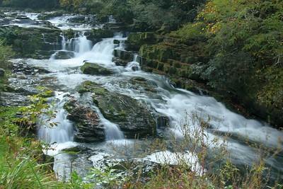 Another shot of the Nantahala River cascades.