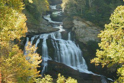 Cullasaja Falls near Highlands, NC.