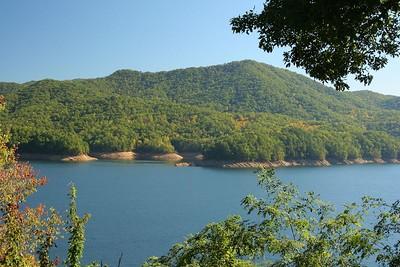 Fontana Lake.