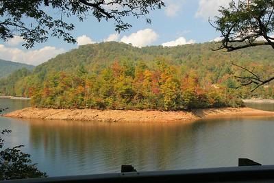 Nantahala Lake near Franklin, NC.