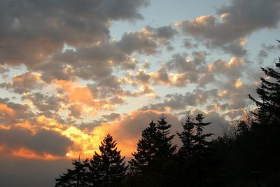 And another sunrise shot at Clingman's Dome.