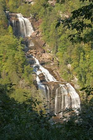 Whitewater Falls near Lake Toxaway, NC.