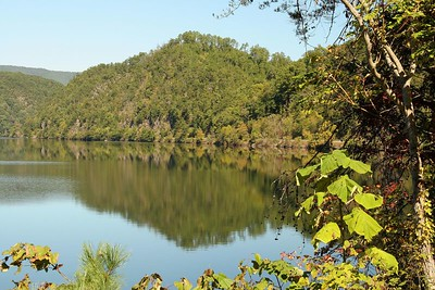 Chilhowee Lake in TN.