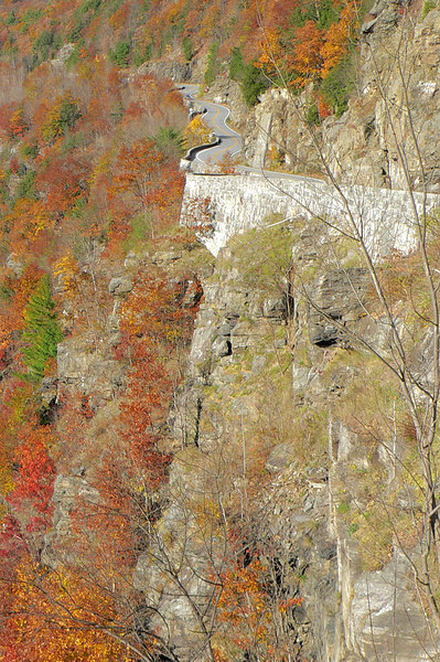 """The """"Hawk's Nest."""" Route 97 near Port Jervis, NY."""