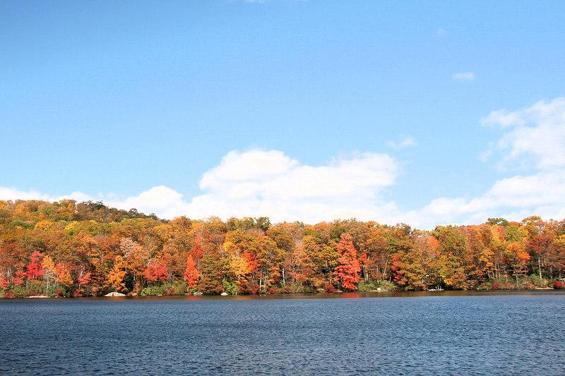 Lake Sebago. Harriman SP, NY.