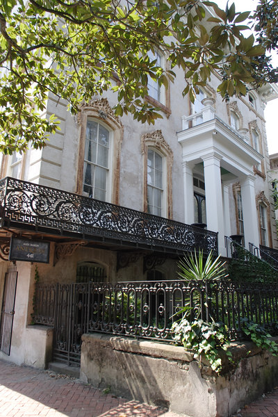 While 'pre-war building' in the New York City real estate market means built before WWII, in Savannah it means built before the days when Confederate and Union soldiers went at it up and down the east coast.  The quaint little city is full of 19th-century homes originally built for wealthy plantation owners and old British money and carefully restored to their original splendor 150 years later.