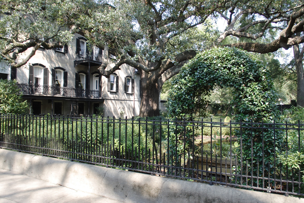 "While 'pre-war building' in the New York City real estate market means built before WWII, in Savannah it means built before the days when Confederate and Union soldiers went at it up and down the east coast.  The quaint little city is full of 19th-century homes originally built for wealthy plantation owners and old British money and carefully restored to their original splendor 150 years later.<br /> <br /> © Shams Tarek ( <a href=""http://www.shamstarek.com"">http://www.shamstarek.com</a>)"