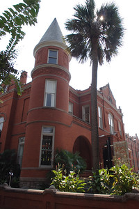 While 'pre-war building' in the New York City real estate market means built before WWII, in Savannah it means built before the days when Confederate and Union soldiers went at it up and down the east coast.  The quaint little city is full of 19th-century homes originally built for wealthy plantation owners and old British money and carefully restored to their original splendor 150 years later.  Note the maid in formal uniform in the lower left corner.  © Shams Tarek (www.shamstarek.com)