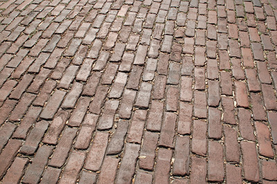 Savannah is a city of rich and aged textures and surfaces, full of history and full of stories.  As the saying sort of goes, if these bricks could talk...  © Shams Tarek (www.shamstarek.com)