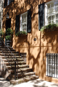 While 'pre-war building' in the New York City real estate market means built before WWII, in Savannah it means built before the days when Confederate and Union soldiers went at it up and down the east coast.  The quaint little city is full of 19th-century homes originally built for wealthy plantation owners and old British money and carefully restored to their original splendor 150 years later.  © Shams Tarek (www.shamstarek.com)