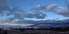 Clouds in the valley below Cedar Mesa