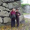 Janet and Ikuko at Yamagata Castle; October 2007