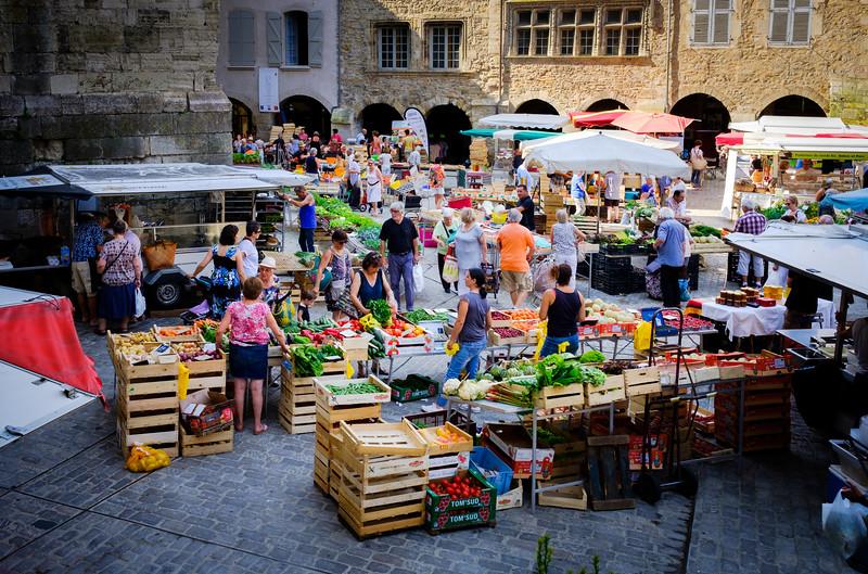 Villefranche-de-Rouergue (Market)