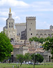 The Palais des Papes in Avignon, France was home of the Roman Catholic Pope for 70+ years.