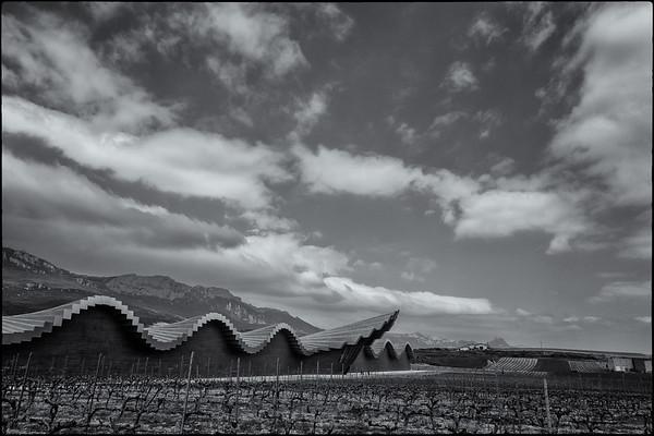 The Ysios winery near Laguardia