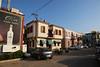 Empty streets in the morning. Lovvit.