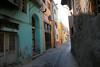 Pretty street in Ayvalik.