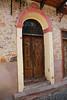 Wonderful door. Looks original to me.