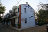 Right end of the Kapya hotel in Ayvalik.<br /> This hotel is actually a row of interconnected houses. Very pretty.<br /> Pretty expensive too...