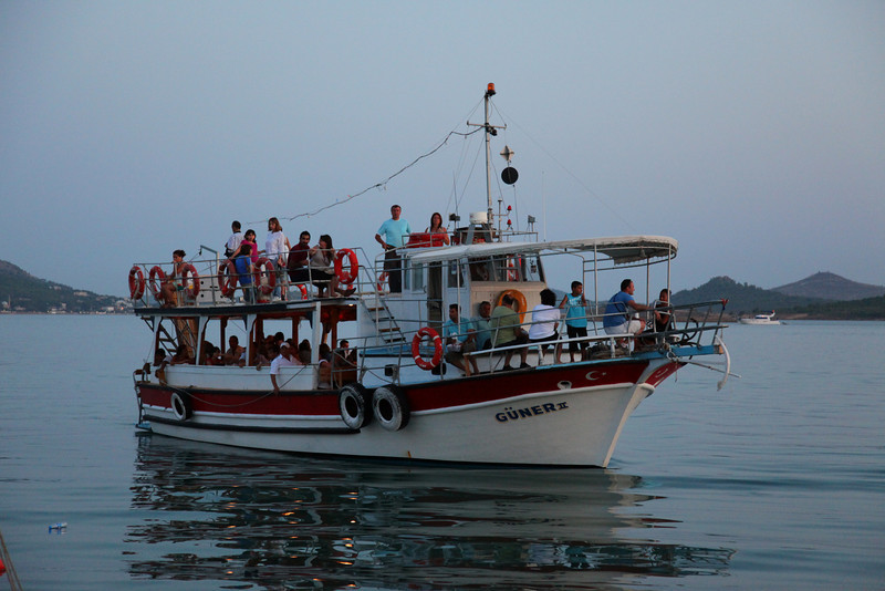 Small ferryboat, bringing people from Ayvalik to Cunda Island (where we stayed).