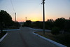 The roads in front of our summerhouse (yazlik), at dawn.