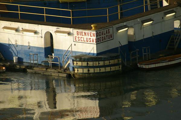 Azamara Quest in the Panama Canal