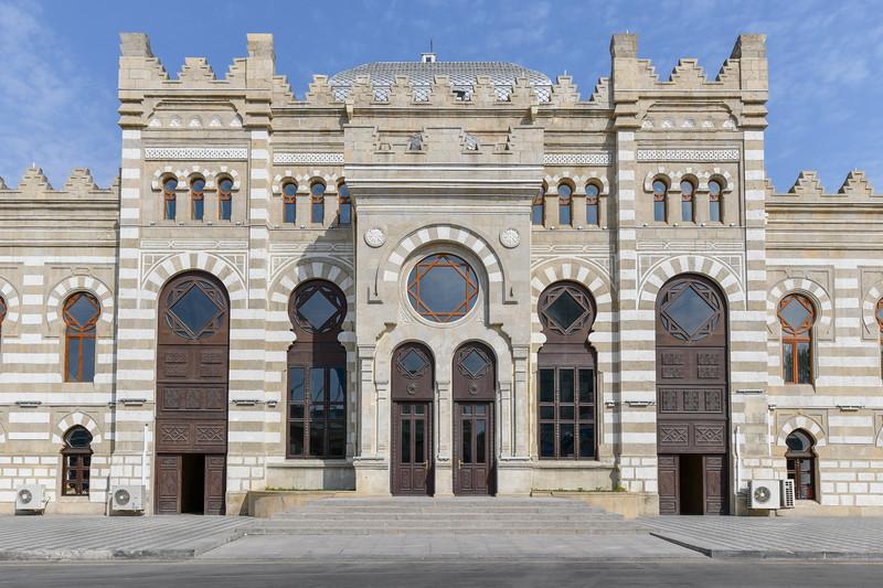 Azerbaijan Railways Building - Baku, Azerbaijan
