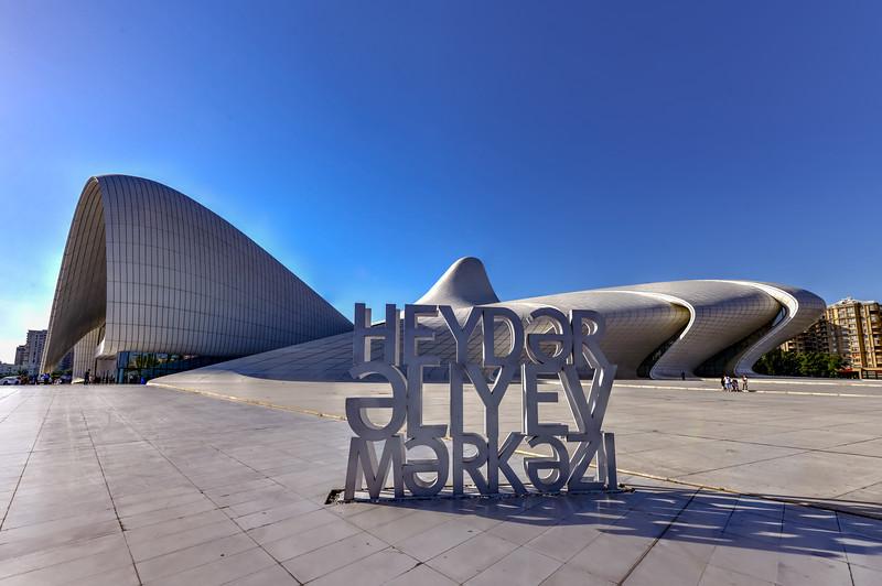 Heydar Aliyev Center - Baku, Azerbaijan