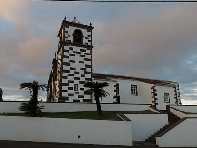 The church in Santo Espírito