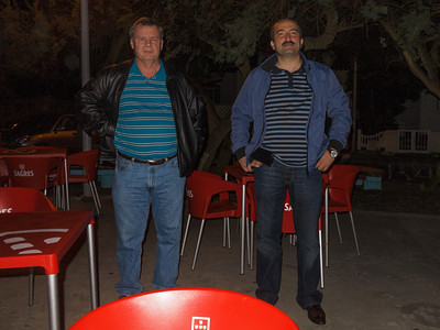 Gordon and Elkhan in Anjos