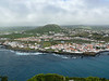 Horta from the hilltop