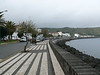 Street in Horta on Faial across from our hotel