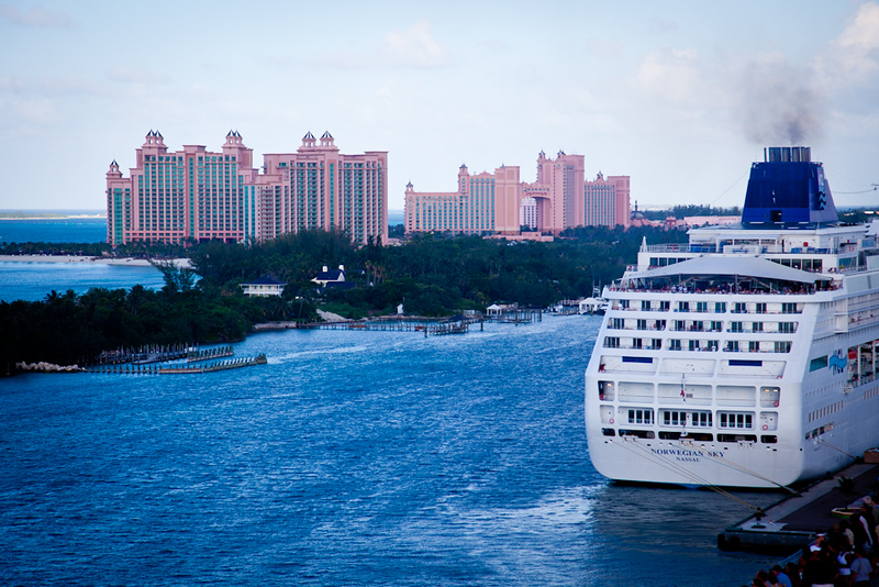 LAST GLIMPSE OF ATLANTIS AS WE DEPART NASSAU